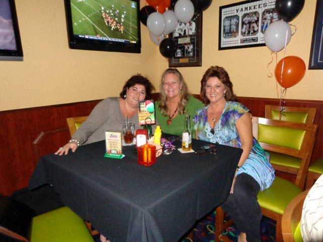 Customers having fun in Rips Sports Bar and Grill