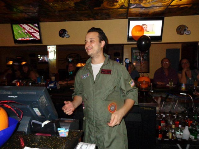 Mike Halloween at Rips our Bartender